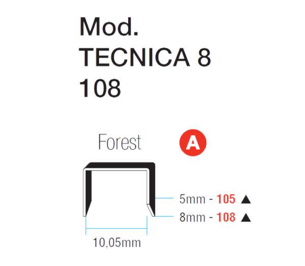 ΔΙΧΑΛΑ ΚΑΡΦΩΤΙΚΟΥ MAESTRI No 108-8 FOREST