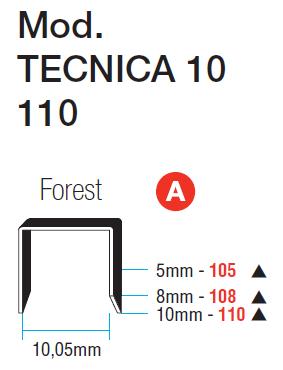 ΔΙΧΑΛΑ ΚΑΡΦΩΤΙΚΟΥ MAESTRI Νο 105-108-110 FOREST